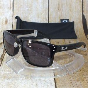 New Oakley Holbrook Sunglasses Polished Black Grey
